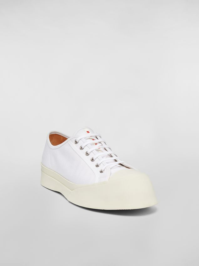 Marni Pablo sneaker in canvas white Man - 2