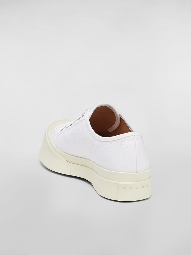 Marni Pablo sneaker in canvas white Man - 3