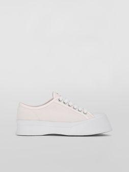 Marni Pablo Sneaker in white canvas Woman