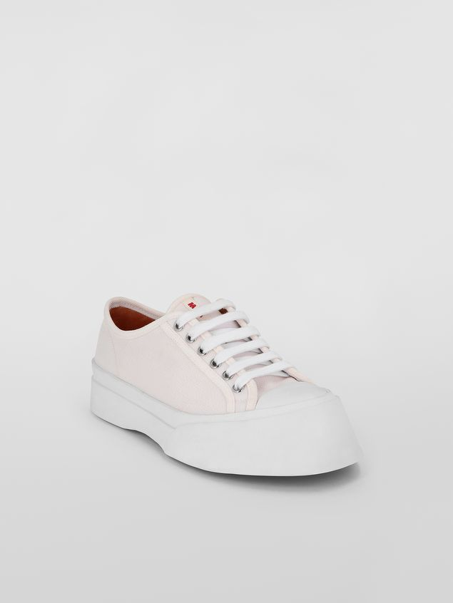 Marni Pablo Sneaker in canvas white Woman - 2