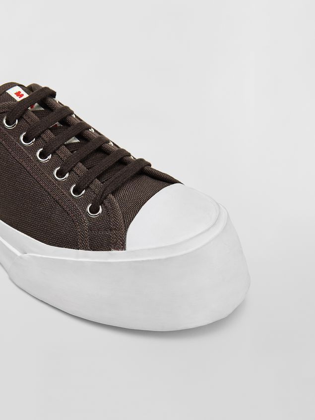 Marni Pablo Sneaker in canvas brown Woman - 5