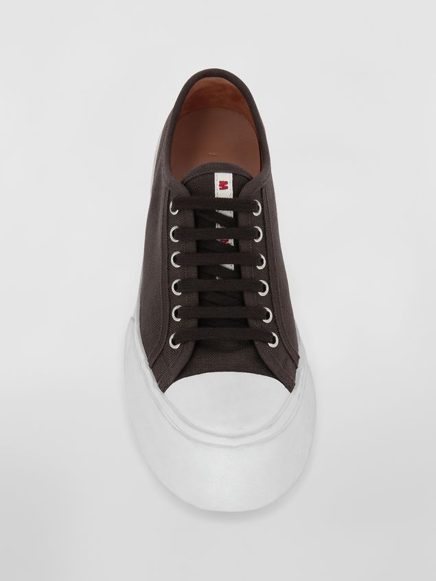 Marni Pablo Sneaker in canvas brown Woman - 4