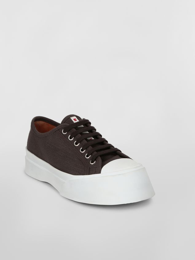 Marni Pablo Sneaker in canvas brown Woman - 2