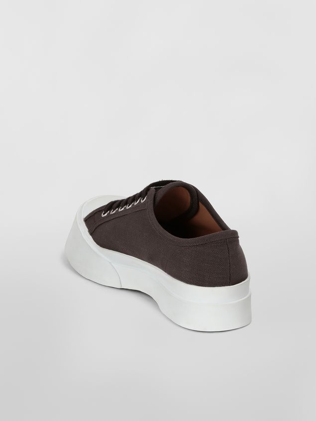 Marni Pablo Sneaker in canvas brown Woman - 3