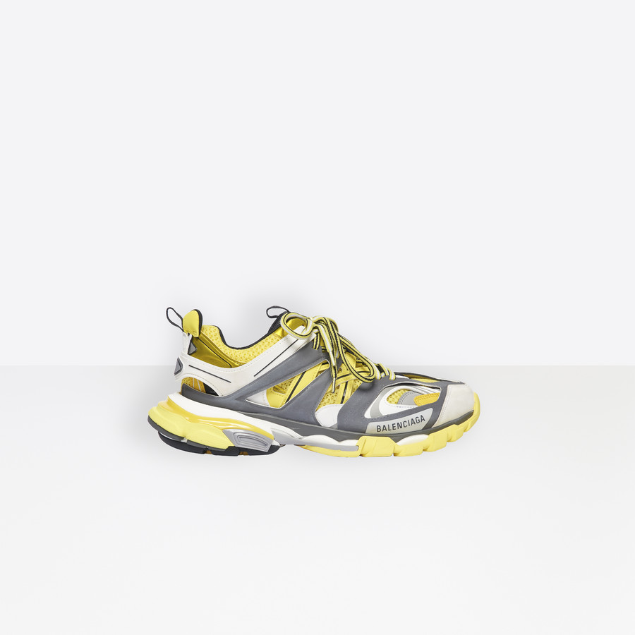 3aac809d90 Track Trainers Yellow/ Grey for Women | Balenciaga