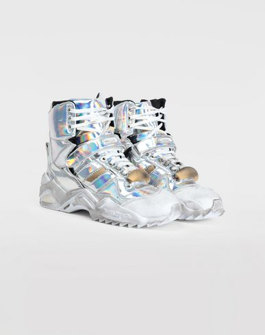 SHOES High-top 'Retro Fit' sneakers Silver