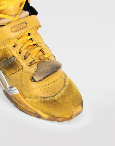 SHOES High-top 'Retro Fit' sneakers Ochre
