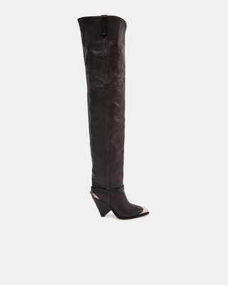 ISABEL MARANT BOOTS Woman LAFSTEN thigh-high boots d