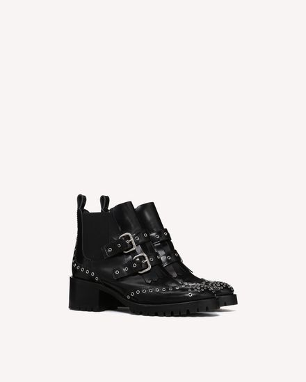 REDValentino Boot Woman QQ0S0B45QXU 0NO f