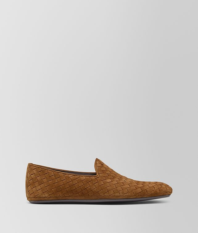 BOTTEGA VENETA FIANDRA SLIPPER IN INTRECCIATO SUEDE Slippers and Loafers Man fp
