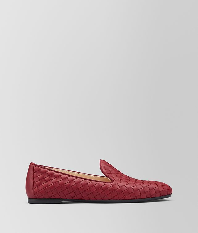 BOTTEGA VENETA FIANDRA SLIPPER IN INTRECCIATO NAPPA Flat [*** pickupInStoreShipping_info ***] fp
