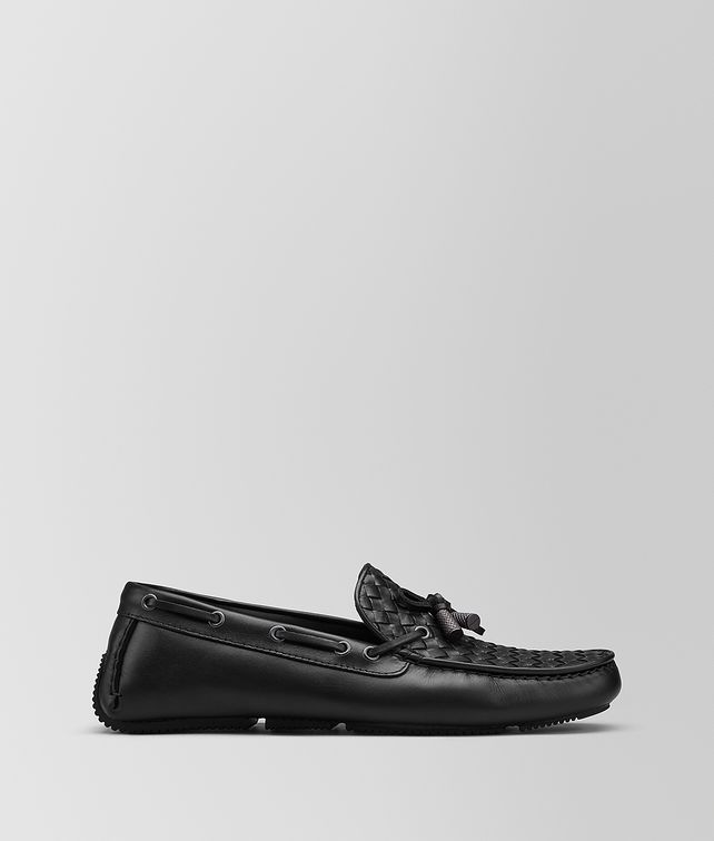BOTTEGA VENETA WAVE BELLS DRIVER IN INTRECCIATO CALF Slippers and Loafers Man fp