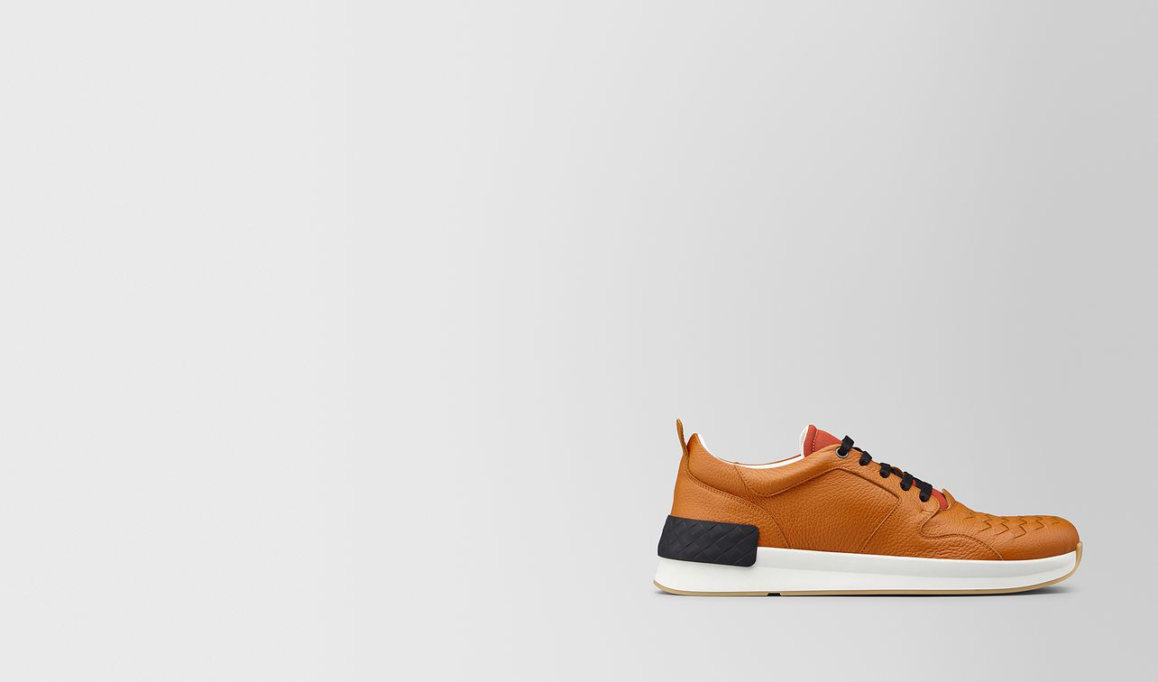 bv grand sneaker in calf leather  landing