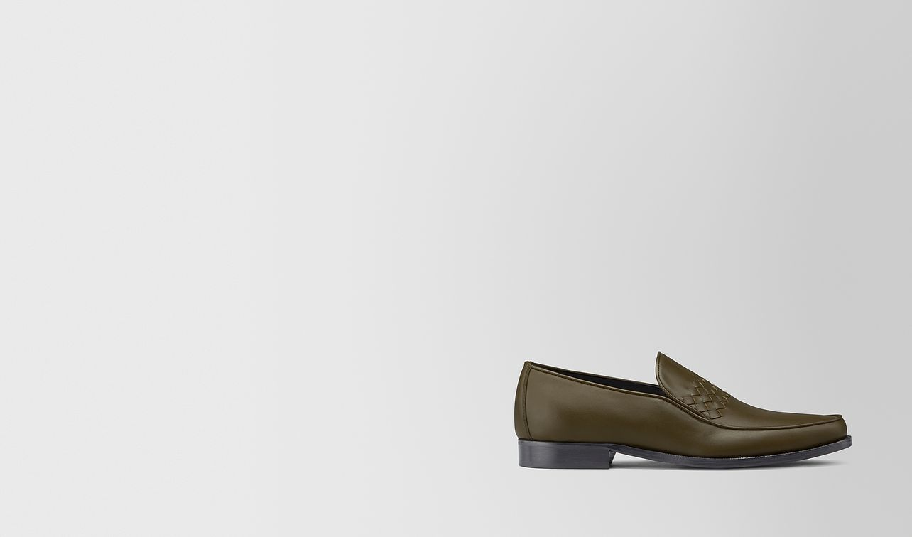 chet loafer in intrecciato calf leather  landing