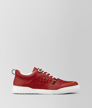 HEEZE SNEAKER IN INTRECCIATO CALF LEATHER