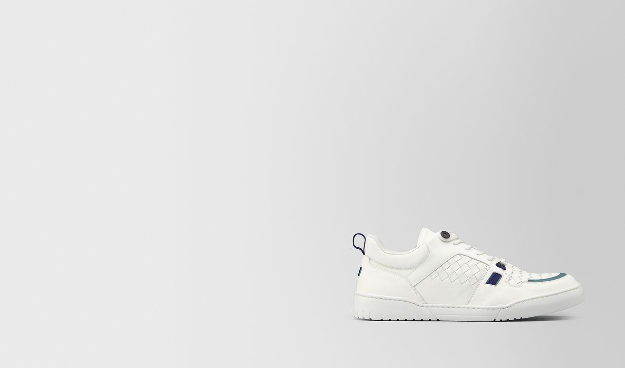 heeze sneaker in intrecciato calf  landing