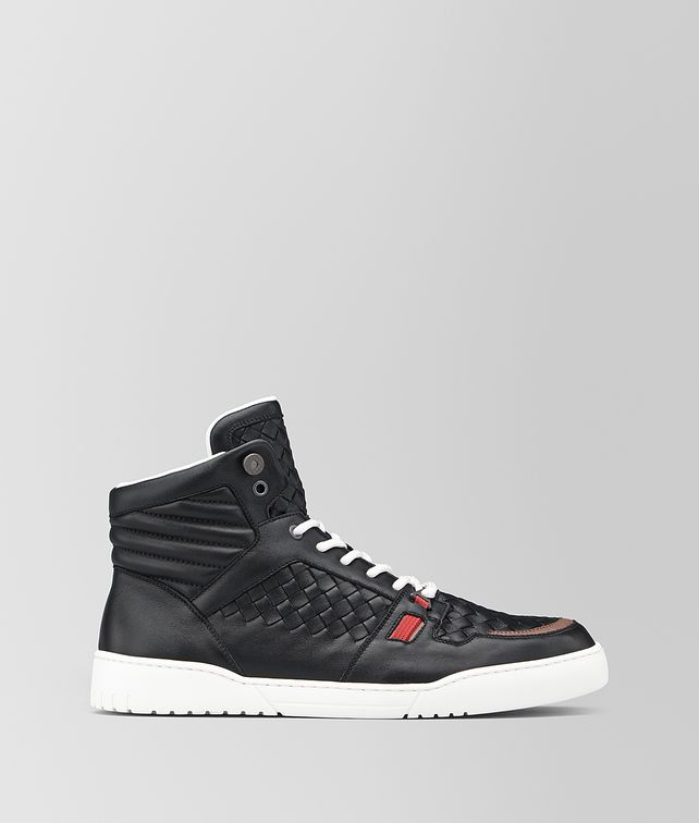 BOTTEGA VENETA HEEZE MID SNEAKER IN INTRECCIATO CALF Sneakers [*** pickupInStoreShippingNotGuaranteed_info ***] fp