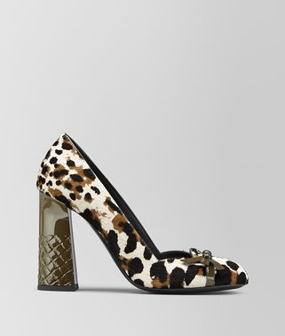 TOPETTE PUMP IN HAIR CALF LEATHER