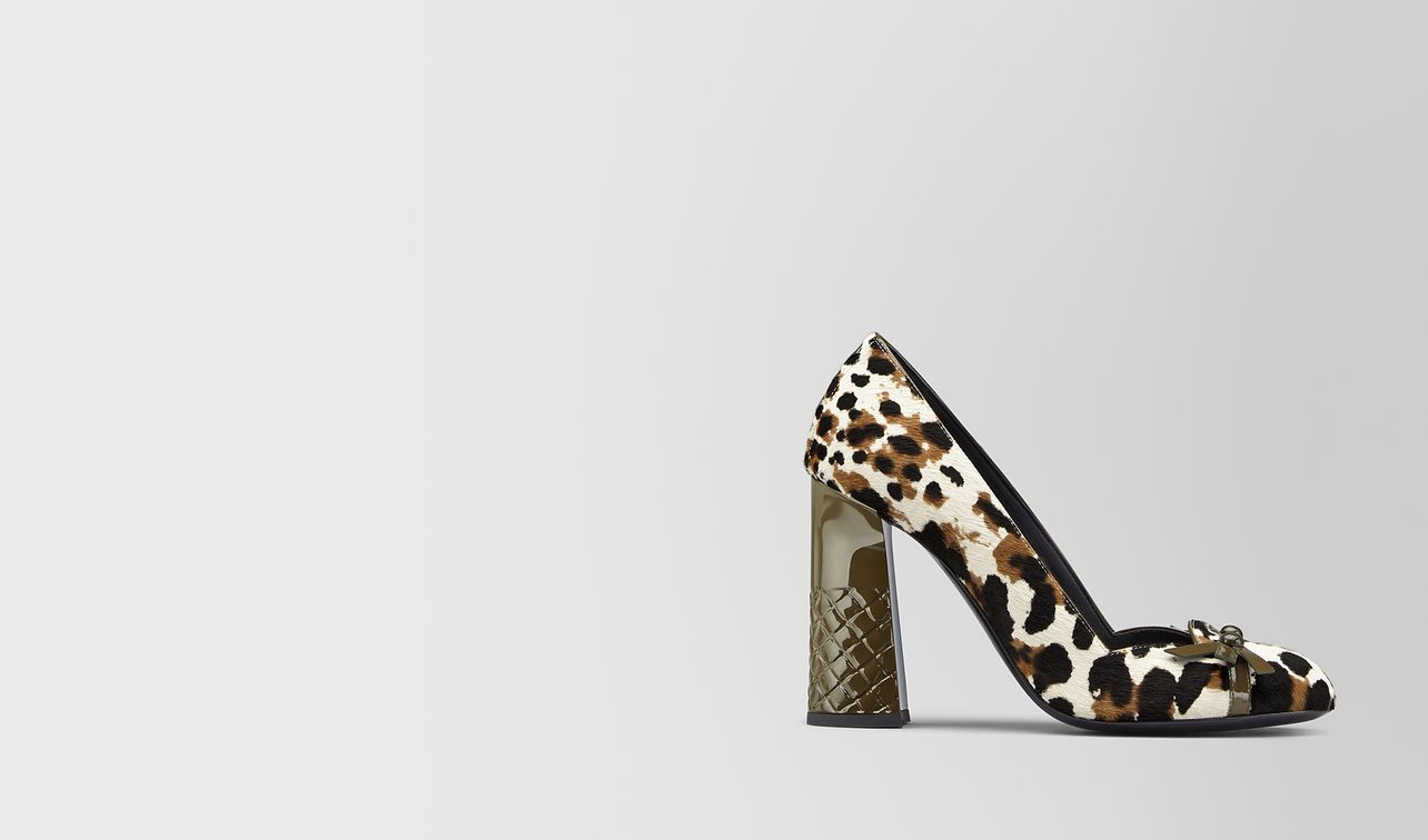 topette pump in hair calf leather  landing