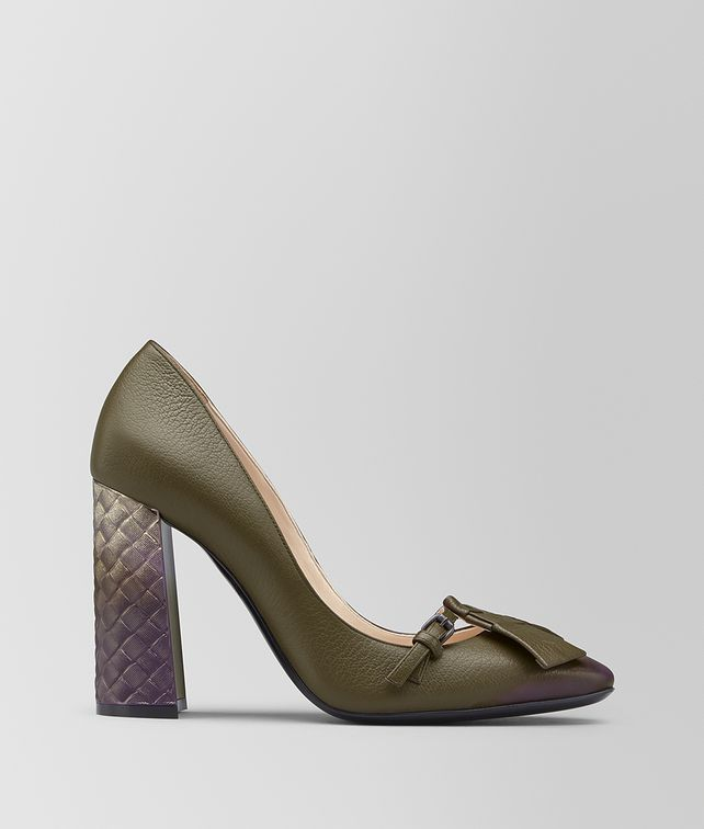 BOTTEGA VENETA CHERBOURG PUMP IN CALF LEATHER Pump [*** pickupInStoreShipping_info ***] fp
