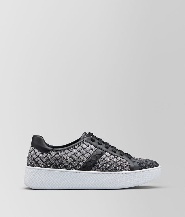 BOTTEGA VENETA HELIUM SNEAKER IN INTRECCIATO KNITTED Trainers Woman fp