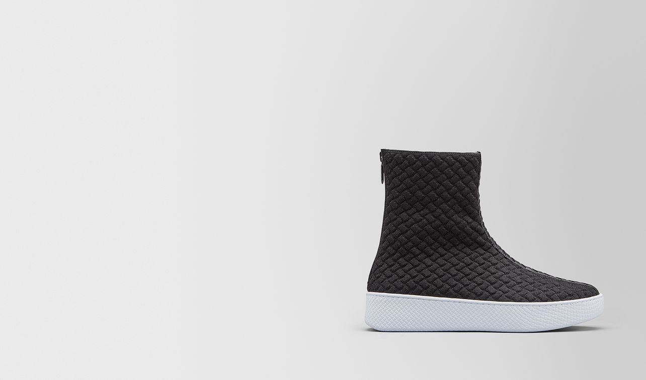 helium sneaker aus intrecciato knitted  landing