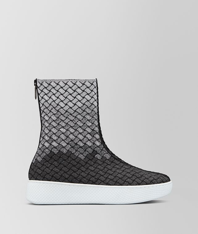 BOTTEGA VENETA HELIUM SNEAKER IN INTRECCIATO KNITTED Trainers [*** pickupInStoreShipping_info ***] fp