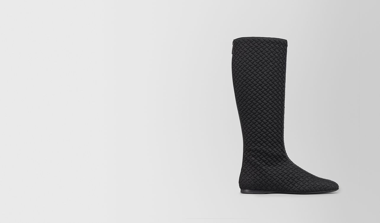 teodora boot in intrecciato knitted  landing