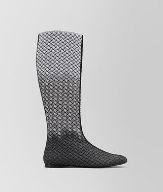 TEODORA BOOT IN INTRECCIATO KNITTED