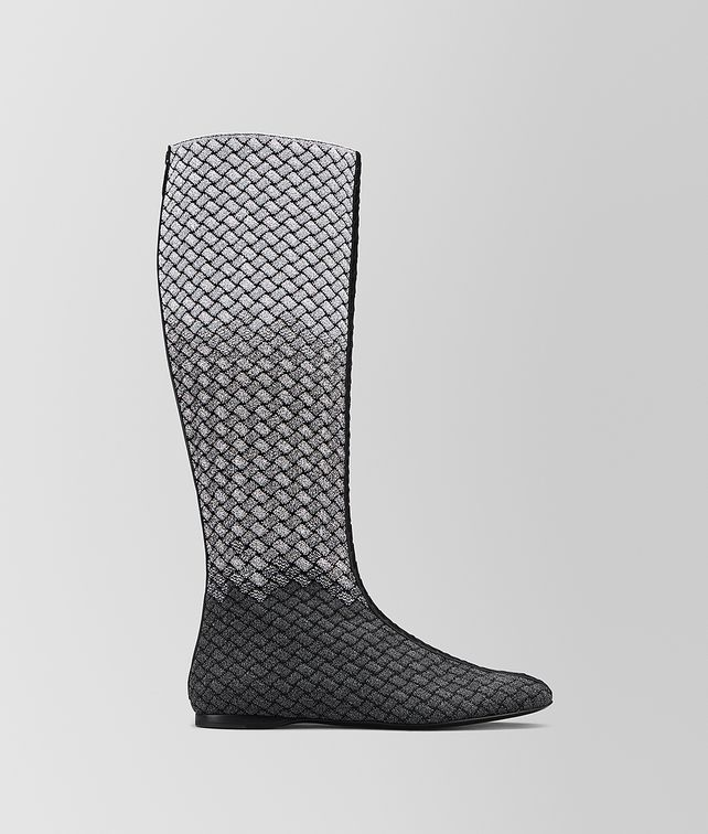 BOTTEGA VENETA TEODORA BOOT IN INTRECCIATO KNITTED Boots [*** pickupInStoreShipping_info ***] fp