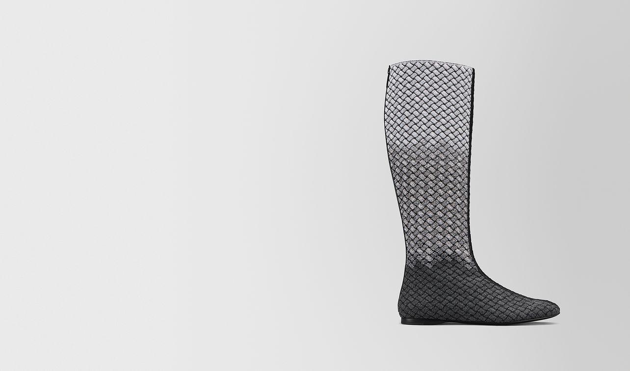 teodora stiefel aus intrecciato knitted  landing
