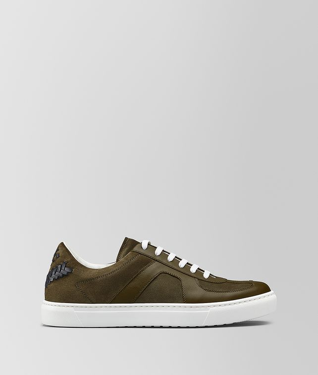 BOTTEGA VENETA SNEAKER IN CALF LEATHER AND SUEDE Trainers [*** pickupInStoreShippingNotGuaranteed_info ***] fp