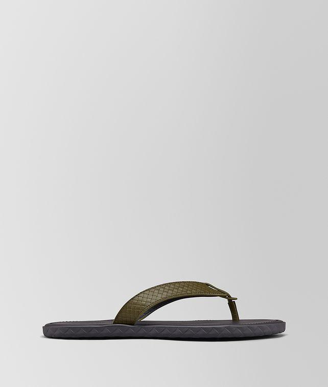 BOTTEGA VENETA PLAGE THONG IN CALF Sandals Woman fp