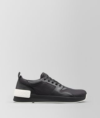 BV GRAND SNEAKER IN FABRIC AND CALF