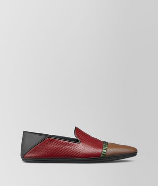 FIANDRA SLIPPER IN MICRO-INTRECCIATO EMBOSSED