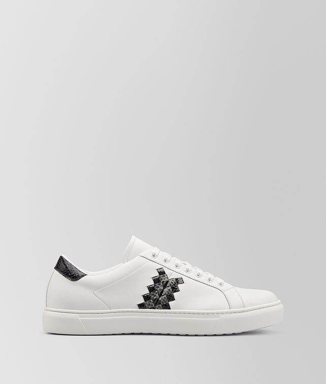 BOTTEGA VENETA BV CHEQUER SNEAKER IN CALF AND AYERS Trainers [*** pickupInStoreShippingNotGuaranteed_info ***] fp