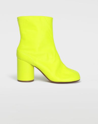 MAISON MARGIELA Fluorescent Tabi boots Ankle boots [*** pickupInStoreShipping_info ***] f
