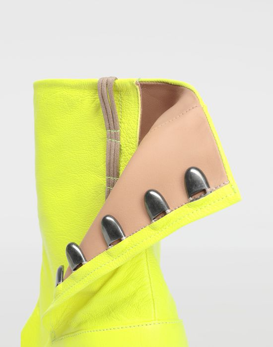 MAISON MARGIELA Fluorescent Tabi boots Ankle boots [*** pickupInStoreShipping_info ***] a