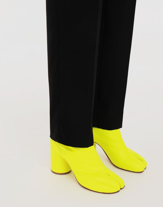 MAISON MARGIELA Fluorescent Tabi boots Ankle boots [*** pickupInStoreShipping_info ***] b
