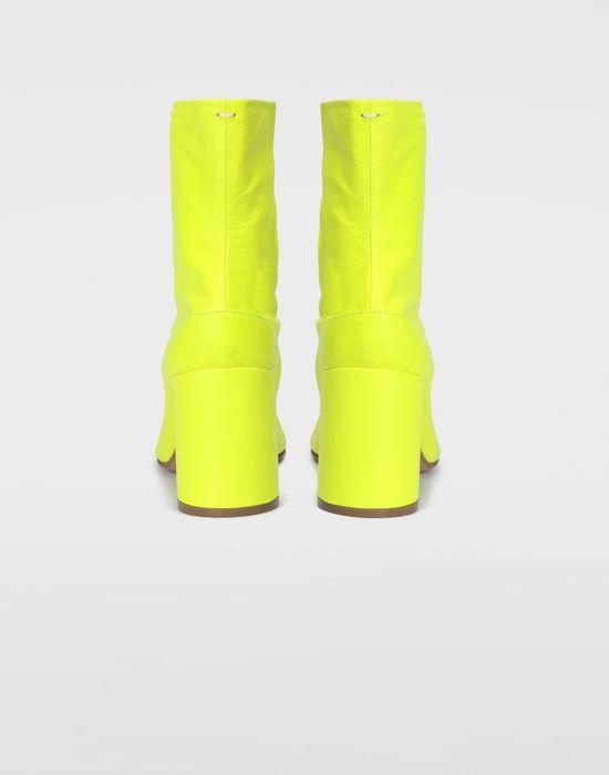 MAISON MARGIELA Fluorescent Tabi boots Ankle boots [*** pickupInStoreShipping_info ***] d