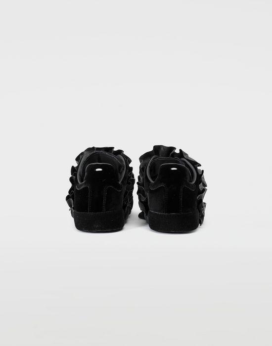 MAISON MARGIELA Reflective trim velvet sneakers Sneakers [*** pickupInStoreShipping_info ***] d