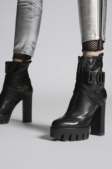 DSQUARED2 Lace-Up Ankle Boot [*** pickupInStoreShipping_info ***] ABW007035501680M1611 m