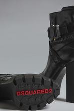 DSQUARED2 Acid Glam Punk Tape Ankle Boots Полусапоги на шнуровке  Для Женщин