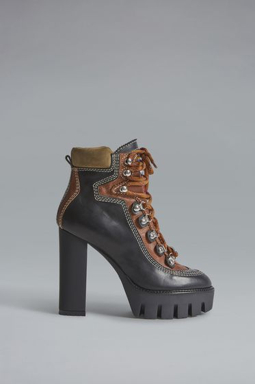 DSQUARED2 Lace-Up Ankle Boot [*** pickupInStoreShipping_info ***] ABW0028249010272124 m