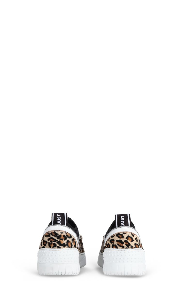 JUST CAVALLI Leopard-print sneaker Sneakers [*** pickupInStoreShipping_info ***] d