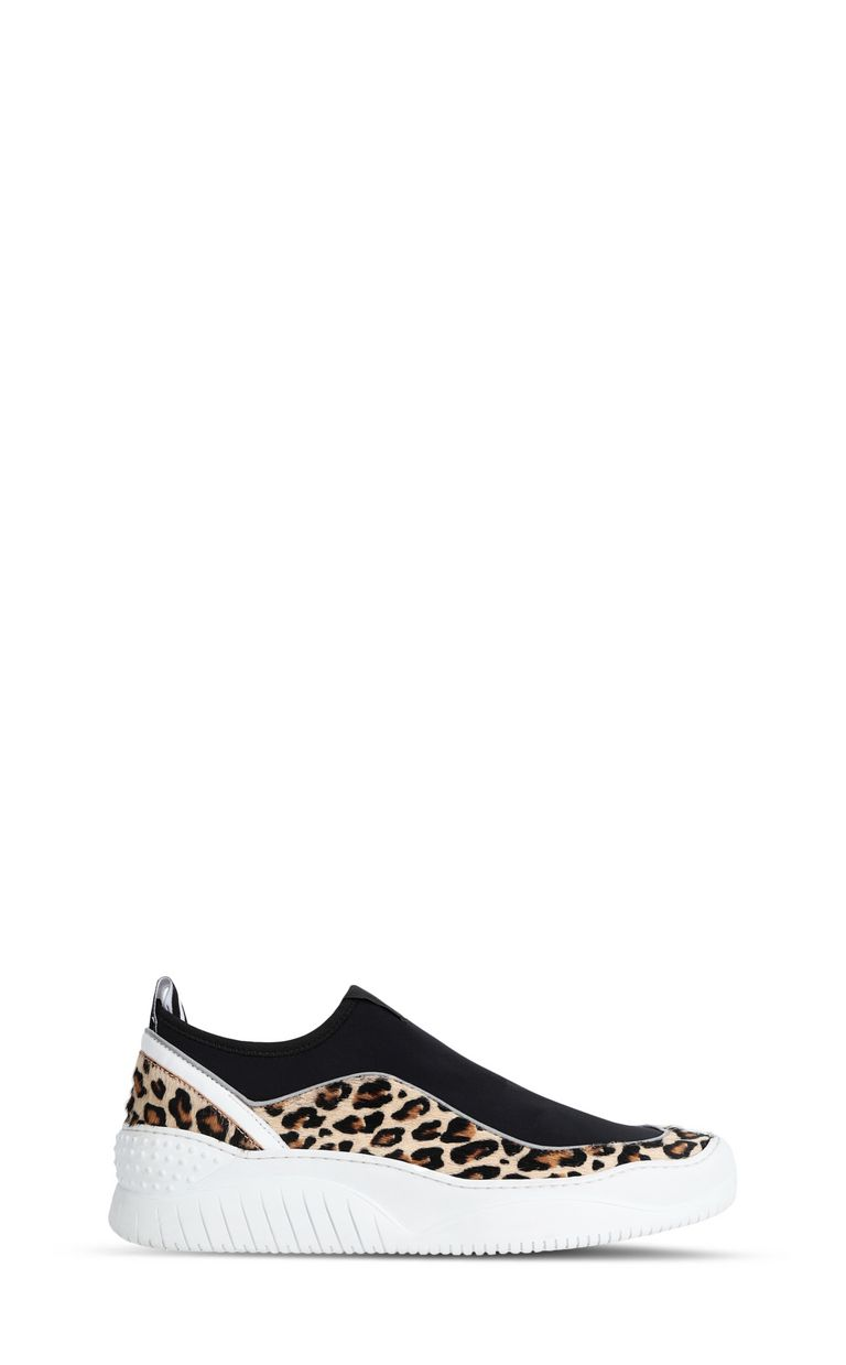 JUST CAVALLI Leopard-print sneaker Sneakers Woman f