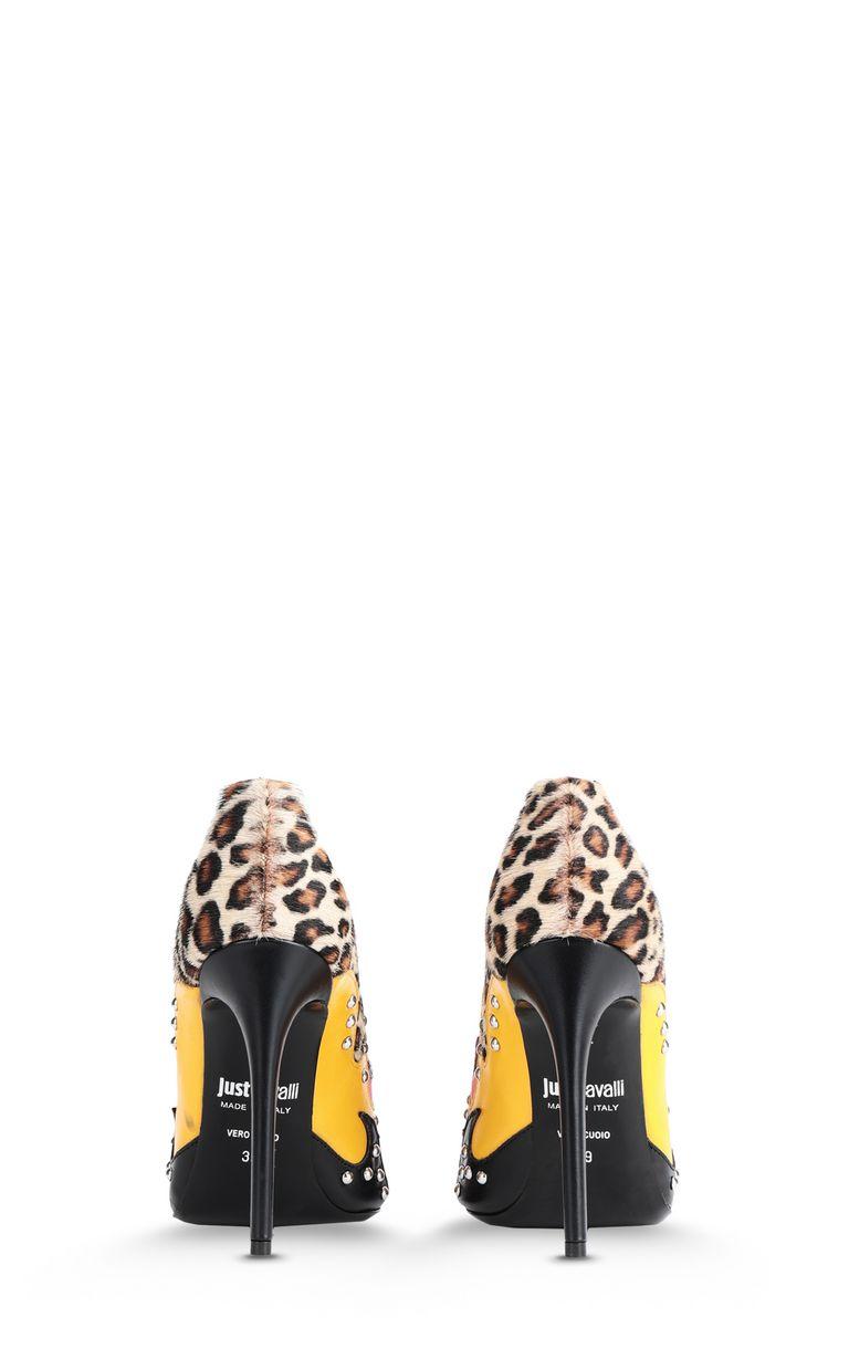 JUST CAVALLI Flame-detail court shoe Pump [*** pickupInStoreShipping_info ***] d