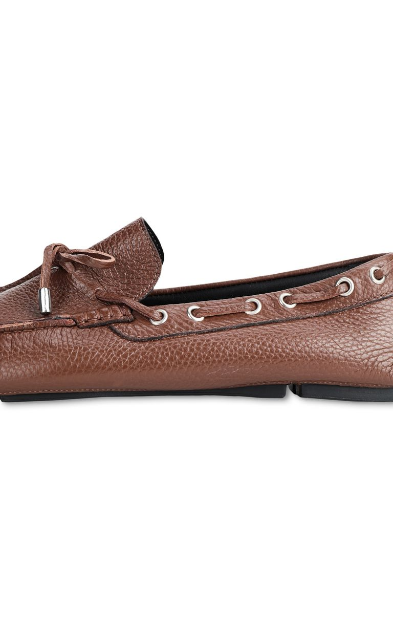 JUST CAVALLI Loafer in tumbled leather Moccassins [*** pickupInStoreShippingNotGuaranteed_info ***] e