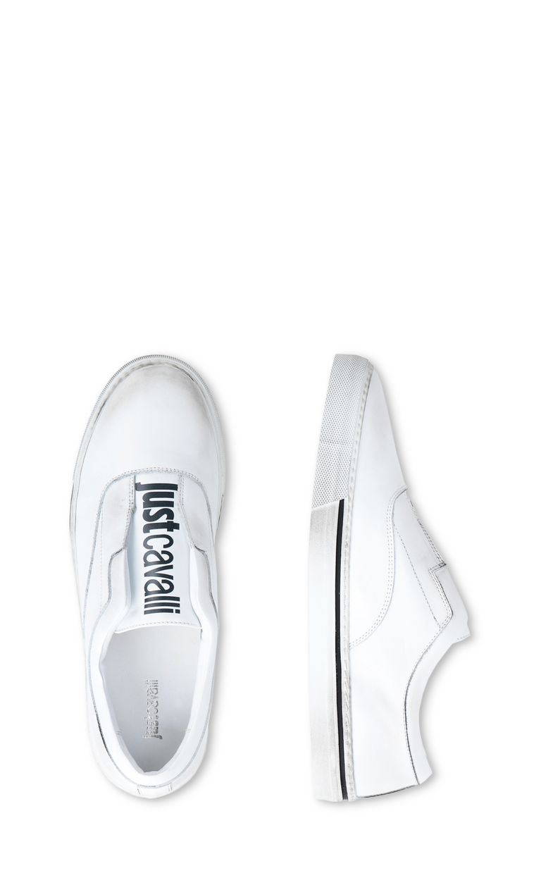 JUST CAVALLI Slip-on shoe with logo Sneakers Man d