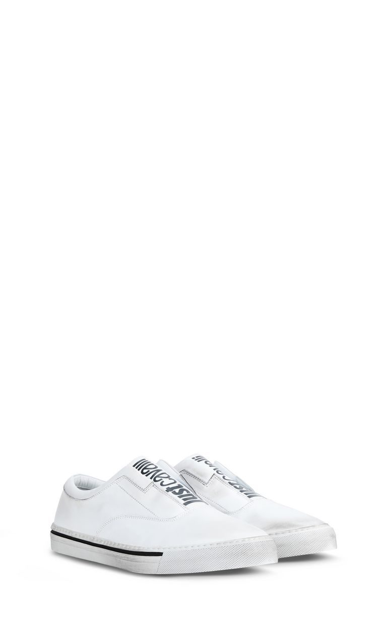 JUST CAVALLI Slip-on shoe with logo Sneakers Man r
